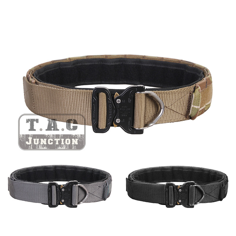 """Emerson Tactical Cobra Buckle Duty Belt 1.75""""- 2"""" Tactical Rigger Combat Patrol Duty Inner & Outer Belt For Shooting Military"""