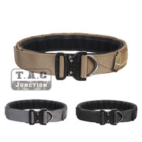 Emerson Tactical Cobra Buckle Duty Belt 1.75 inch and 2 inch Inner & Outer Rigger Combat Patrol Duty Belt
