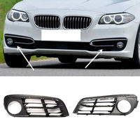 2PCS ABS For BMW F18 F10 530LI 525LI 2014 2015 Front Fog lamp Grille Trim