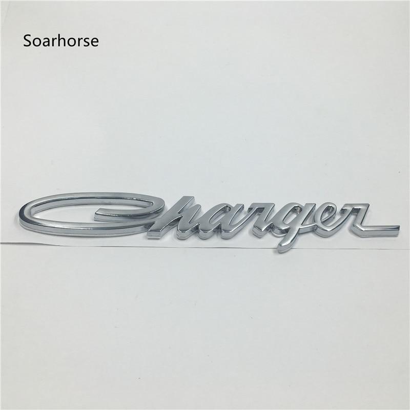 Soarhorse For Dodge Charger Emblems Chrome Classic Script