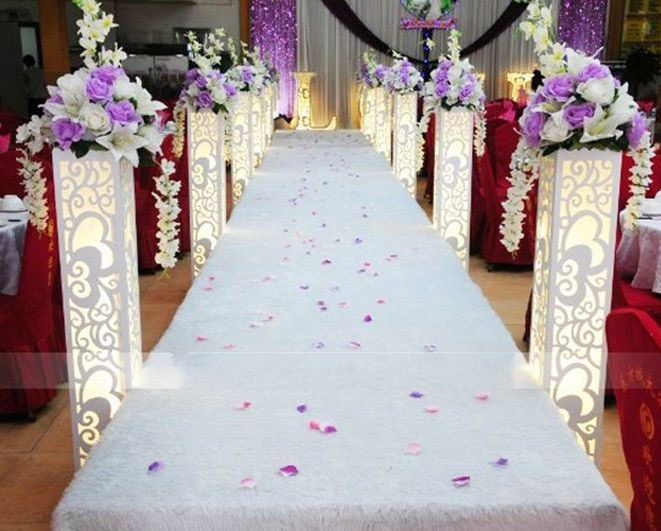 wholesale wedding supplies carved pillar column without light hollow out wedding road lead wedding decoration