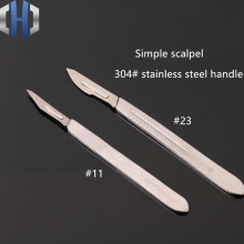 Hand Carving Knife 11th Scalpel 23rd Blade DIY Disposable Tool Manual With Handle