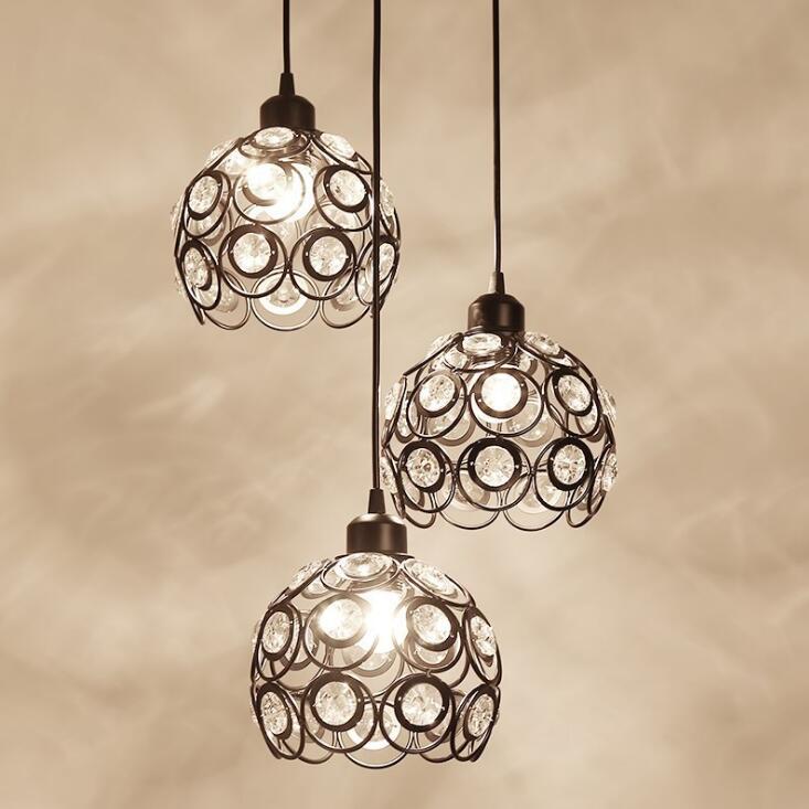 Здесь продается  1Pcs E27 Modern Led Pendant Lamp Black Painting Metal Pendant Light for Stair Dinning Living Room Hanging Lighting  Свет и освещение