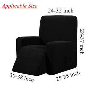 Image 5 - Waterproof Elastic Recliner Chair Cover All inclusive Massage Sofa Couch Cover