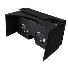 2017 New Bi-Convex Lense For Google Cardboard V2 3D Glasses VR Valencia Quality Max Fit 6 Inch Phone Wholesale