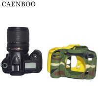 CAENBOO D90 Camera Bags Soft Silicone Rubber Camera Bag For Nikon D90 Cameras Body Cover Case