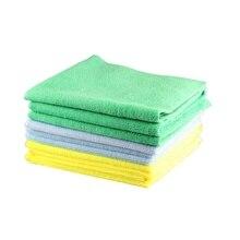 Новое полотенце из микрофибры для автодетейлинга, 1 шт. 40x40 см, 300 г/см, ультрамягкое безedgeless полотенце, идеально подходит для мытья автомобиля, аксессуары для ухода за краской