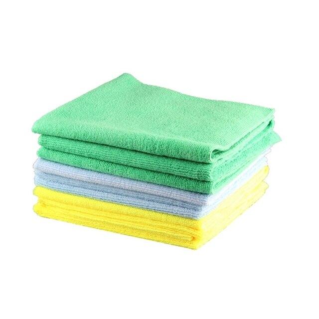 1 sztuk nowy ręcznik z mikrofibry Auto Detailing 40x40cm 300GSM Ultra miękki ręcznik bez krawędzi idealny do myjnia samochodowa do pielęgnacji lakieru akcesoria