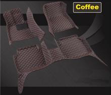 Высокое качество 3D Luxury Слякоть Коврики для ног площадку коврик для BENZ GLC GLA GLE GLK БЕСПЛАТНО ПО EMS