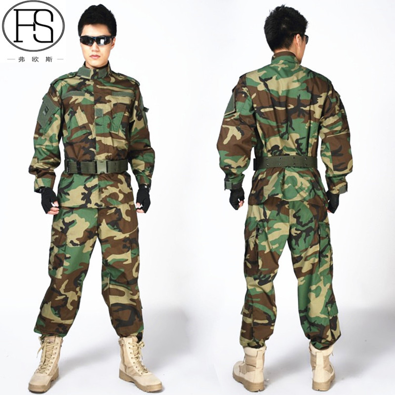 Military Army Uniform Men Outdoor Paintball Aisoft Shirt + Pants Camouflage Military Tactical Suits summer tactical camouflage army combat suit men typhone military uniform short sleeve militar airsoft paintball uniform set