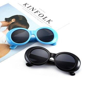 8 colors 6-15 years Children Sunglasses Vintage Retro Sun glasses Boys Girls Women Oval Sun Glasses KIDS OVERSIZED Gafas N162