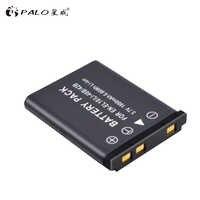 PALO 1 pièces 1800mAh EN-EL10 EN EL10 LI-42B Li-40B LI42B 40B Batterie pour Appareil Photo nikon OLYMPUS U700 U710 FE230 FE340 FE290 FE360