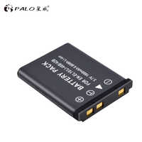 PALO 1 piezas 1800mAh EN-EL10 es EL10 LI-42B Li-40B LI42B 40B de batería de la cámara para nikon OLYMPUS U700 U710 FE230 FE340 FE290 FE360