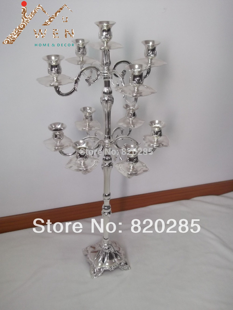 Tallest Centerpiece Candelabra 105cm Height 11 Lights Candle Holder Party Or Celebration Floor