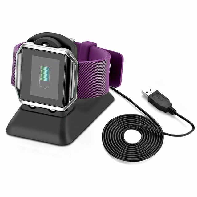 Ktab Fitbit Blaze Charger Stand Charging Dock Station Accessories With Cell Phone Desktop For