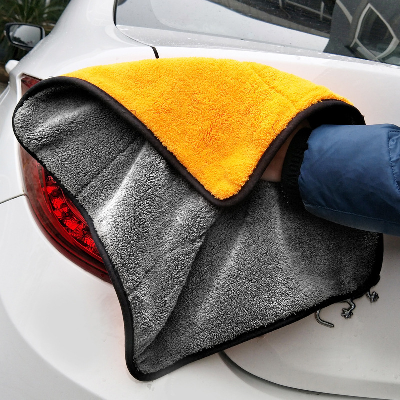 Car Cleaning Drying Cloth Car Wash Microfiber Towel Car Care <font><b>Wax</b></font> Polishing Detailing Towels Car Washing Towel 30*30cm