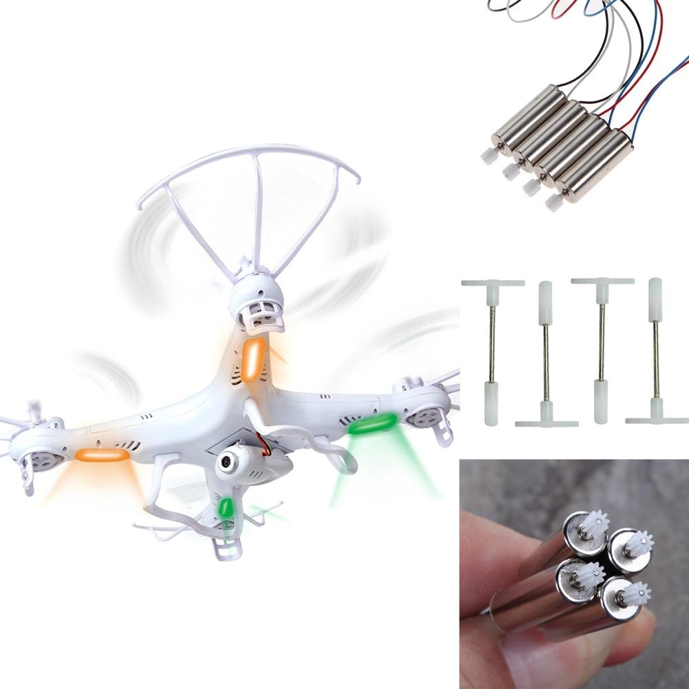 SYMA X5 X5C RC drone Quadcopter Parts 4pcs Motor and 4pcs gears Repair Replacement RC Part Accessories Tools обрезатель фольги vacu vin черный