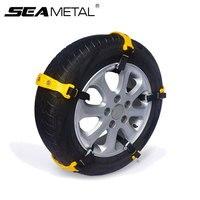 10pcs Car Snow Chain Auto Universal Winter Tires TPU Anti Skid Wheel Tyre Snow Chains Auto