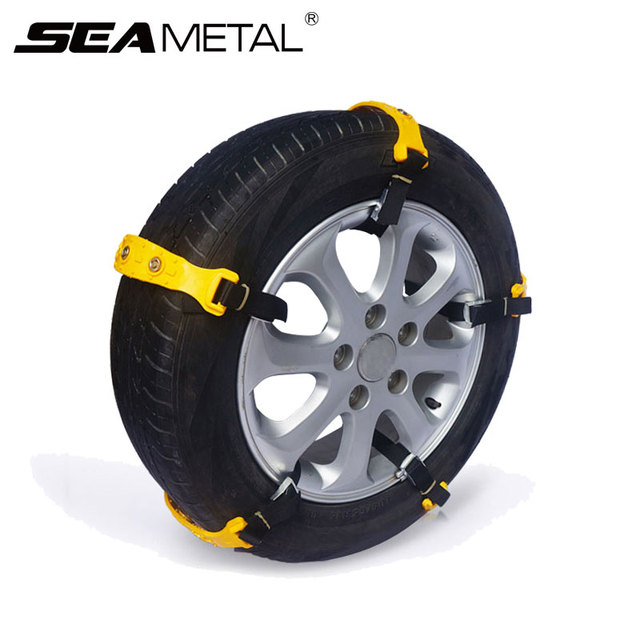10pcs Car Snow Chain Auto Universal Winter Tires TPU Anti-Skid Wheel Tyre Snow Chains Auto Wheels Belt Car-Styling Accessories