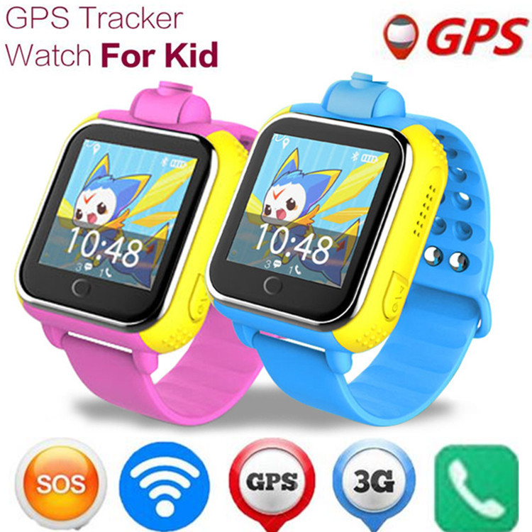 Itek 3G Touch Screen Kids Child GPS Location Tracker Anti-Lost Smart Watch SOS Waterproof Baby Watch With Camera for Android iOS espanson children security anti lost smart watch gps tracker with camera kid sos emergency for ios android waterproof baby watch