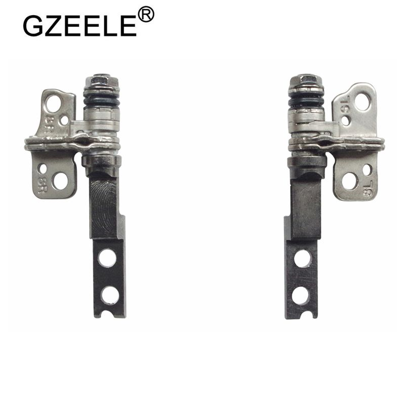 GZEELE New 13.3 Inch Laptop Lcd Hinges For DELL XPS 13 XPS13 9350 9360 9343 Left And Right L+R P54G AAZ00 ZAZ80