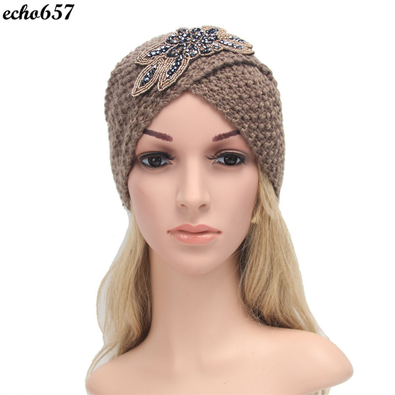 New Arrival Echo657 Hot Fashion Casual Womens Winter Warm Knit Crochet Hat Braided Turban Headdress Cap Nov 11 PY shivaki ssh i127be srh i127be