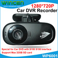 HD Car DVR Recorder for Car DVD with S100 or S150 Interface build in G-Sensor and speaker Support Max 32 GB SD card