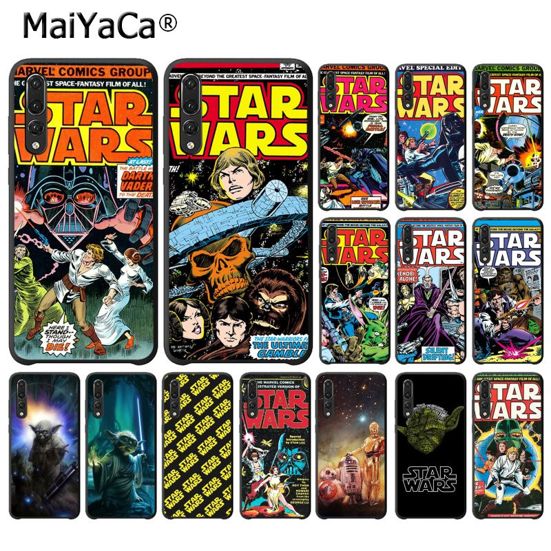 MaiYaCa Star Wars Movie Comic Guys Holding Phone Case for HuaweiP20Lite P30Pro P Smart Y5 Y6 Honor8A 8C 10i Nova3 Mate20Lite image
