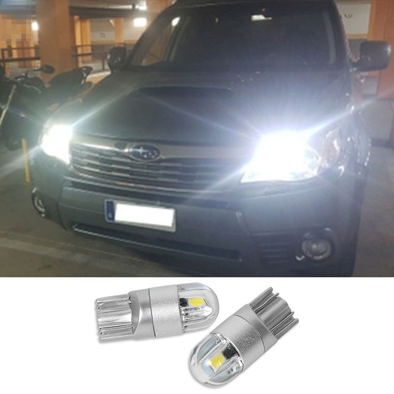 Car Light T10 <font><b>W5W</b></font> <font><b>Led</b></font> Wedge <font><b>Bulb</b></font> Auto Dome Reading Parking Lights Clearance light For Subaru Impreza Forester legacy B9 BRZ Baja image