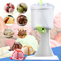 HIMOSKWA Automatic Household Ice Cream Machine DIY Ice Cream Maker For Children Mini Frozen Fruit Paste Slush Machine
