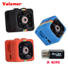 Big discount SQ11 Mini Camera HD 1080P Night Vision Camcorder Car DVR Infrared Video Recorder Sport Digital Camera Support TF Card DV Camera