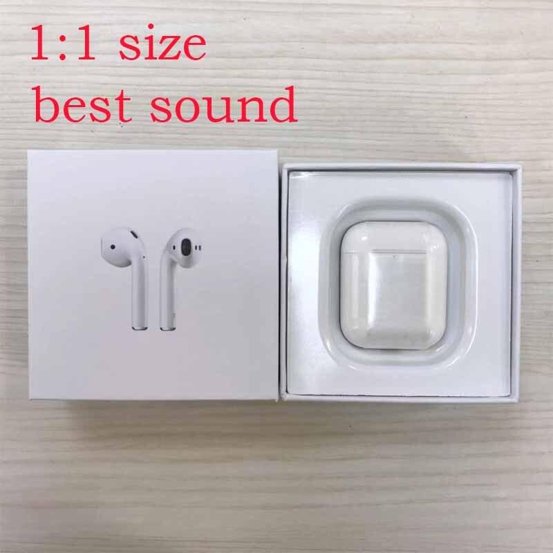 2019 Original AP tws 1: 1 air mx mini sans fil bluetooth 5.0 3D basses écouteurs pour apple iPhone xiaomi PK i21 i20 tws w1 puce
