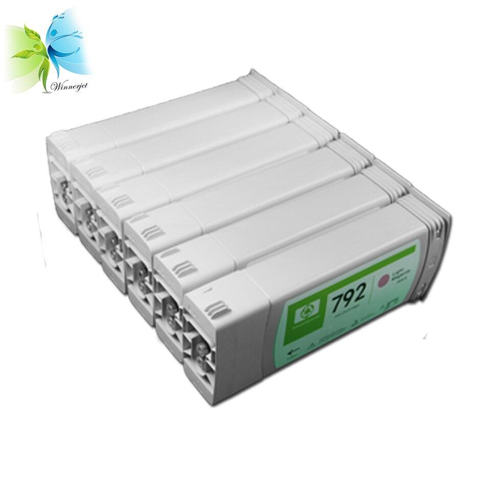 Winnerjet-775ml-Latex-Ink-Cartridge-For-HP-792-Used-For-HP-Designjet-L26500-L28500-260-280