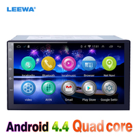 Leewa 7 дюймовый Android 4.4 4 ядра медиа плеер с GPS Navi Радио для Nissan TREEANO/Versa/micra /Мурано WI FI bluetoo #3900