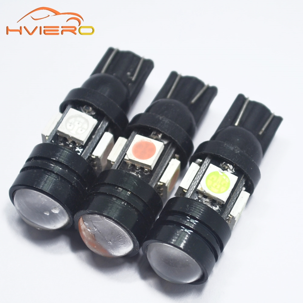 1Pcs Car Styling T10 LED W5W 196 168 4SMD 5050 20W Super Bright Car Bulbs Auto Lamp width lamp license plate Lens Light scatter 1pcs super bright t10 canbus w5w 5050 13 smd car led white error free light bulbs parking trunk light license plate lamp dc 12v