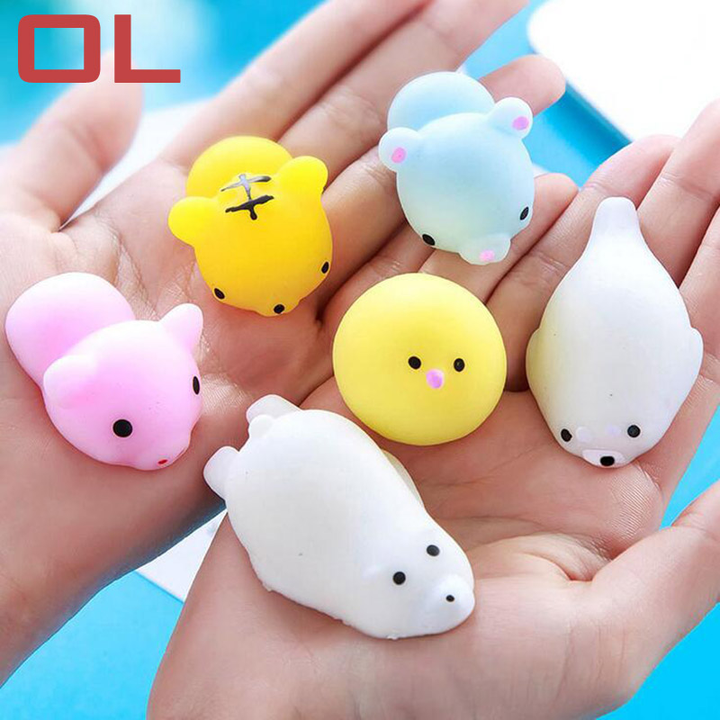 OL 13 Styles Slow Rising Squishy Squish PU Soft Cute Toys Kawaii Squishies Antistress Fun Squeeze Toy For Kids fun autism toys hamster squishy decor slow rising kid toy squeeze relieve anxiet gift toys for children pu simulation hamster