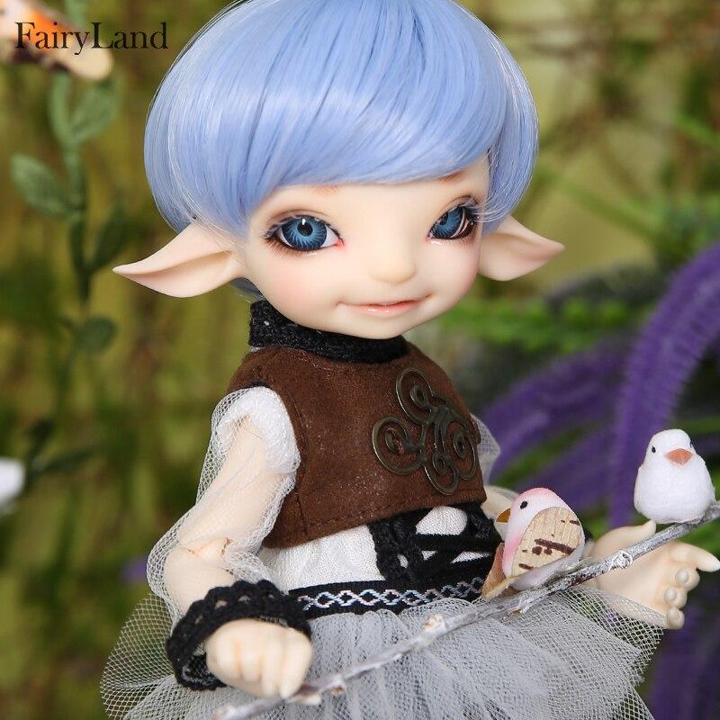 все цены на Oueneifs Fairyland RealFee Pano 1/7 sd bjd model tsum baby dolls toys dollhouse silicone resin anime furniture онлайн