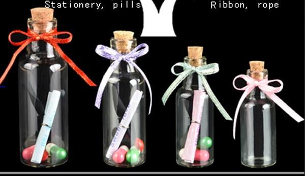 criança, 35 ml Desejando garrafa de vidro, garrafa de mini