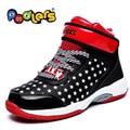 Niños calientes de la Venta las Zapatillas de deporte zapatos de baloncesto amortiguación Transpirable hombres y mujeres zapatillas Tamaño 31-38