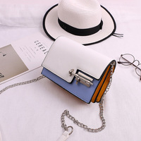 Mini Casual Small Messenger Bags New Women Handbag With Mortise Lock Clutch Ladies Party Purse Famous