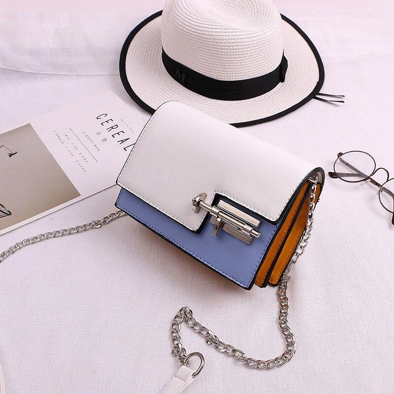 Mini Beiläufige Kleine Messenger Bags Neue Frauen Handtasche mit Einsteckschloss Kupplung Dame-parteihandtasche Berühmten Designer Umhängetaschen