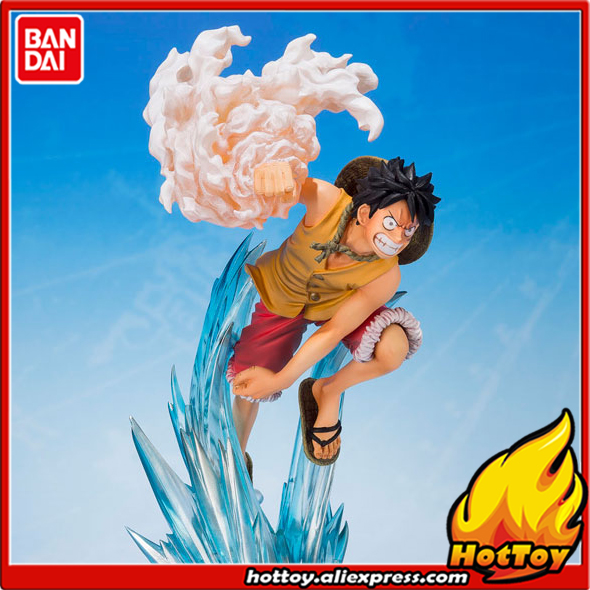 100% Original BANDAI Tamashii Nations Figuarts ZERO Collection Figure - Monkey D. Luffy -Brother's Bond- from ONE PIECE one piece bandai figuarts zero trafalgar law dress rosa hen figure toys kids