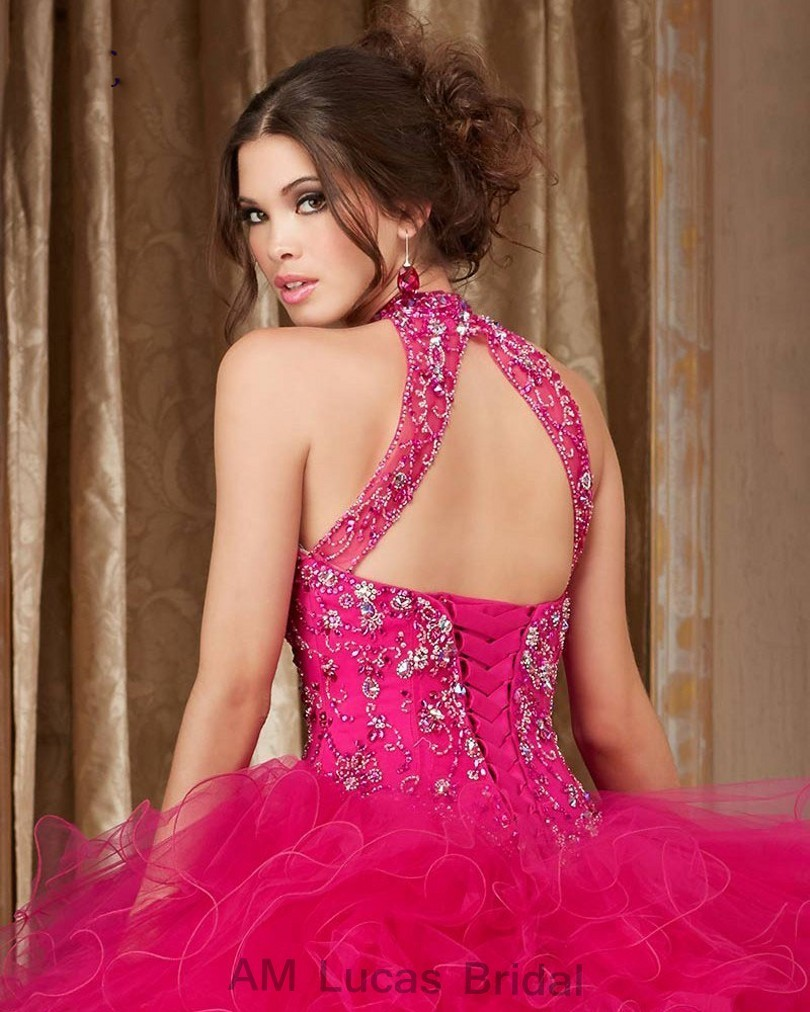 Cheap-Blue-2017-Quinceanera-Dress-Ball-Gown-O-Neck-Beaded-Rhinestones-Long-Sweet-16-Years-Party (3)