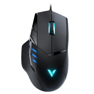 Image 2 - Rapoo IR Optical Wired Gaming Mouse 6200DPI 10 Programmable Buttons Computer Gamer Mouse 16M Color Magic RGB light Game Mouse