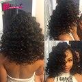 Перуанский глубокая волна девы волос 7A новое качество мир лучше перуанский вьющиеся волосы девственные глубокая волна волосы ткать пучки глубокая волна