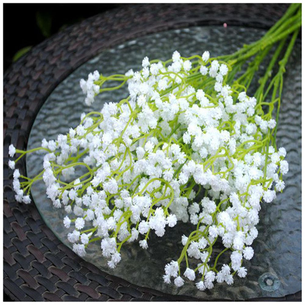 Artificial flowers plastic white gypsophila flower wedding artificial flowers plastic white gypsophila flower wedding decoration engagement decorations mightylinksfo