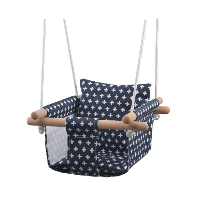 Baby Hammock Swing 0-36 Months Baby Swing Canvas Hanging Chair