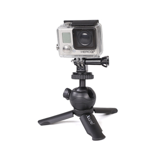 Image 4 - XILETU XS 1 Mini Desktop little handheld Stand Tabletop portable travel tripod for smartphone Cell Phone DSLR with phone holder