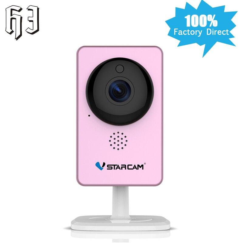 где купить 2017 Newest VStarcam 1080P IP Camera Panoramic Mini Camera Infrared night vision Wireless Motion Alarm Video Baby WIFI Monitor по лучшей цене