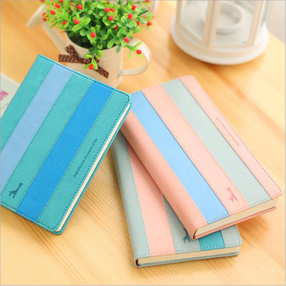 Colored Office School Faux Leather Hardcover Planner High-quality Common Line Paper Notebook Travel Daily Journal Book europa universalis iv common sense e book цифровая версия